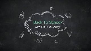 Back To School With BIC Gel-ocity