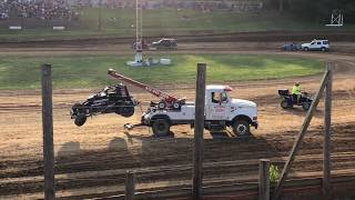 Sprint Cars 5/19/2018 at Lincoln Park Speedway Heat 1, 2, 3, 4, & 5