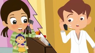 Nursery Rhyme - The 3D Finger family and other songs collection nursery rhymes musical for children