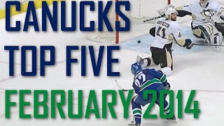 Vancouver Canucks | Top 5 Goals | February 2015