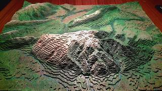 3D TOPOGRAPHIC MAPPING AND PAINTING