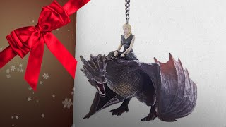 Great Game Of Thrones Christmas Ornaments / Countdown To Christmas 2018! | Christmas Gift Guide