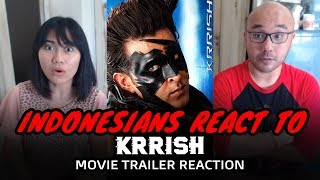 Krrish Trailer Reaction | Indonesian Reaction