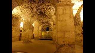 Diocletian's Palace Basement Tour | Game of Thrones Filming Location