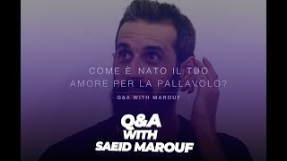 Questions and Answers | Full interview with Saeid Marouf