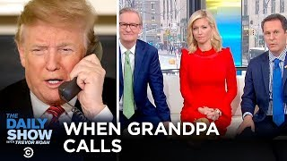 Trump's Never-Ending Phone Call | The Daily Show