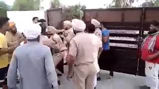 Amritsar:   A police party was allegedly attacked after it raided a house in village Chogawan.
