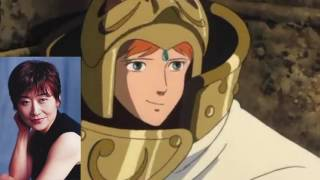 Nausicaä of the Valley of the Wind // Voice Actors