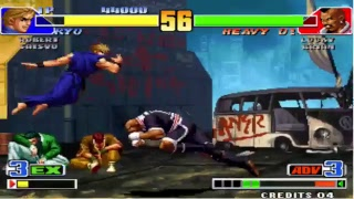 king of fighters 2002 -Games Ksw