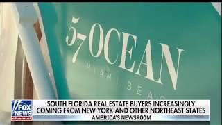 South Florida real estate buyers are increasingly coming from New York and other Northeast states