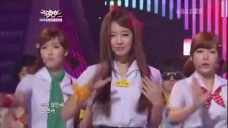 [110729] T-ara - Roly Poly @ KBS Music Bank