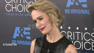 Sarah Paulson at the 2015 Critics' Choice Television Awards