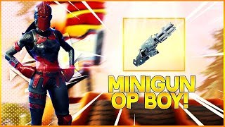 Minigun Is A NUTS! - Fortnite Indonesia
