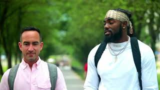 Landon Collins reflects on Giants recently trades culture change  in New York.