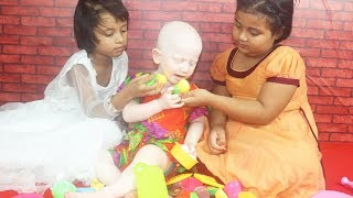 Diya & Sania Cooking Fruits & Vegetables Toy For Sarika | Toy For Kids