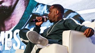 Diddy Showing Behind the Scenes of the Revolt Music Conference in Miami