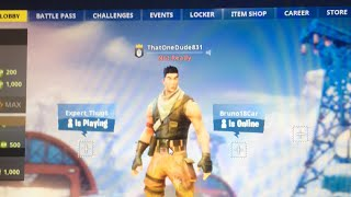 Fortnite livestream join in playing sum solos