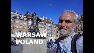 WARSAW: The magnificent OLD TOWN (STARE MIASTO), sites, what to see (POLAND)