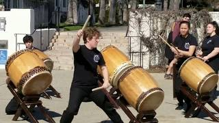 2019-02-16 Taiko Performance at Scripps Family Weekend