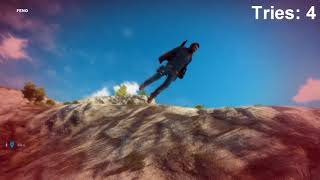 Climbing cliffs in Just Cause 3 be like
