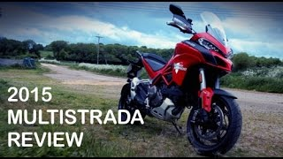 2015 Ducati Multistrada 1200S DVT Review