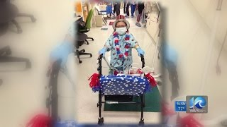 Meet Abby Furco, who beat the odds after given up to 48 hours to live