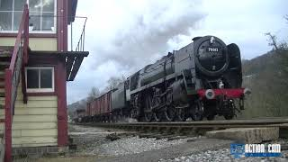 Keighley & Worth Valley Railway- Oliver Cromwell 70013 Photo Charter
