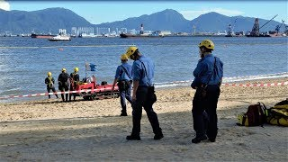 Search and Retrieval Operations of Jenny Lacson's remains---A Filipino drowned  in Butterfly Beach