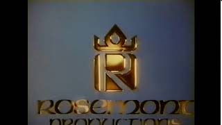 Rosemont Productions And Universal Television Logo 1991
