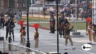 Latest Beating Retreat ceremony at Wagah Border Video in 4k ultra Hd