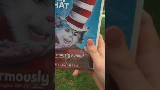 destroying a DVD of The Cat in the Hat (2003)