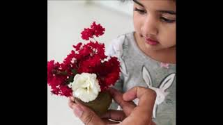 Actor Allu Arjun daughter Allu Arha gives precious gift to Allu Arjun | Allu Arjun daughter gift