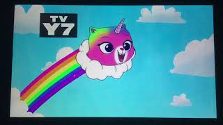 Rainbow Butterfly Unicorn Kitty On Nicktoons (January 29, 2019/100% REAL)