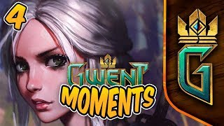 Is CIRI a good card? | Funny and Lucky Moments - GWENT - Ep.4