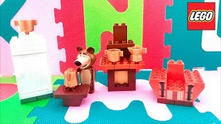 LEGO Kids Toys MASHA and the BEAR Misha's Room