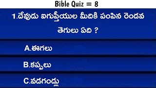 Telugu Bible Quiz YouTube Channel Analytics and Report