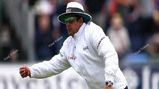 Umpire Dancing During Cricket Match