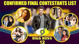 Bigg Boss 12   Know all about housemates🔥🔥 
