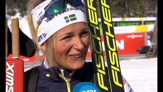 Cross Country Skiing Women Skiath. 23.02.2019 Frida Karlsson 5th!!! Condensed Race