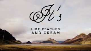 The Ceasars & Michael Brunnock | Peaches and Cream (Lyric Video)