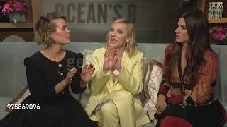 Sandra Bullock, Cate Blanchett and Sarah Paulson Ocean's Eight