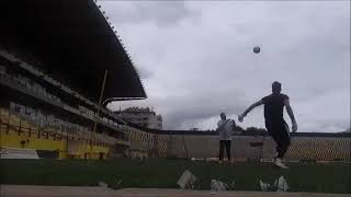 SOKRATIS DIOUDIS TRAINING WARM UP-AGGELOS FOIROS GK COACH