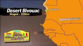 Budapest-Bamako 2020 Official Route