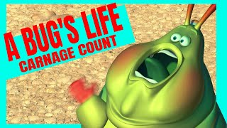 A Bug's Life (1998) Carnage Count