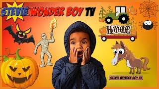 Haunted House for Kids at Milburn Orchards | Pony Rides | Hayride | Animals | Stevie Wonder Boy TV