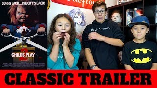 Child's Play 2 Trailer (1990) REACTION