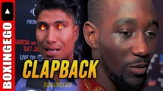 """MIKEY GARCIA'S """"DONT QUIT"""" CLAPBACK TO TERENCE CRAWFORD """"IM FIGHTING ERROL, YOU AMIR KHAN!"""""""