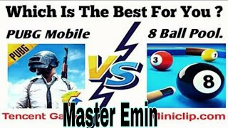 which is the best for you | one man aquad europa BOOTCAMP✓ pubg mi 8ball pool mu hangisi✓ Master Emi