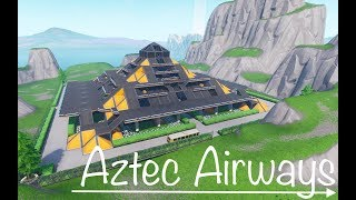 My #FortniteBlockParty Submission - Aztec Airways !