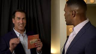 #CloseTalker with Michael Strahan Episode 4 featuring Rob Riggle | Close Talker with Michael Strahan